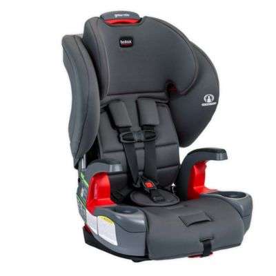 Britax Grow with You Harness-2-Booster Car Seat | 2 Layer Impact Protection - 25 to 120 Pounds, Pebble [New Version of Pioneer]