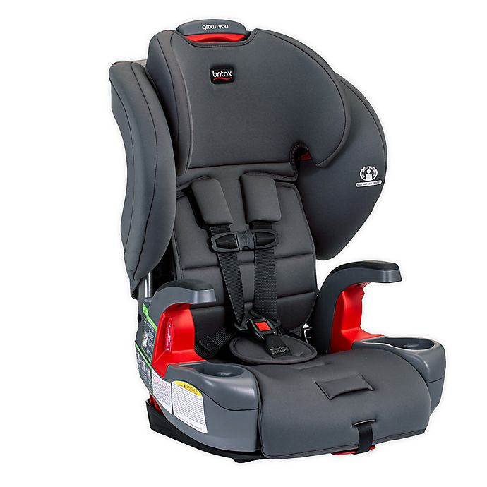 Alternate image 1 for Britax® Grow With You™ Harness-2-Booster Car Seat in Pebble