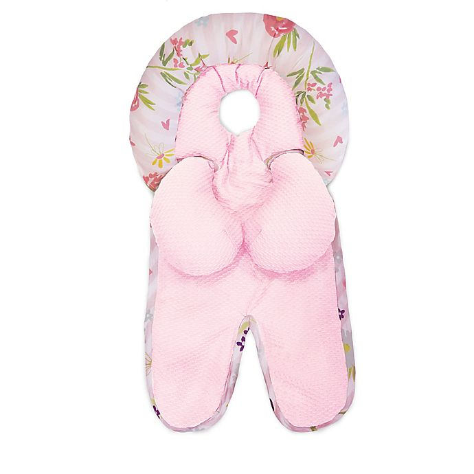 Alternate image 1 for Boppy® Reversible Printed Head and Neck Support in Pink