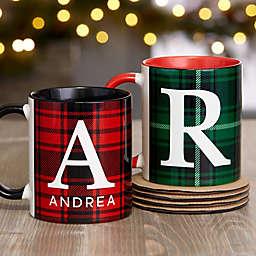 Christmas Plaid Mug Collection