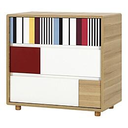 little guy comfort Evolve 3-Drawer Dresser in Oak
