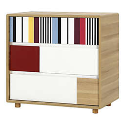 little guy comfort Evolve 3-Drawer Dresser in Oak