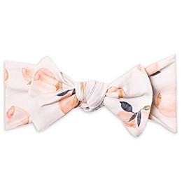 Copper Pearl™ Peach Print Bow Headband