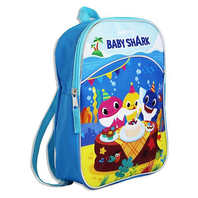 Alternate image 1 for Baby Shark Mini-Backpack in Blue