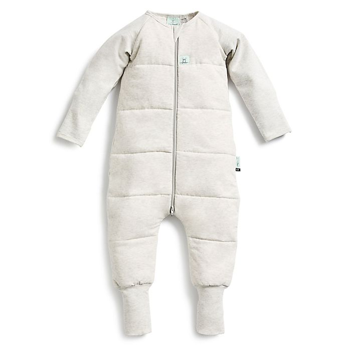 Alternate image 1 for ergoPouch® Organic Cotton 2.5 TOG Sleep Onesie in Grey