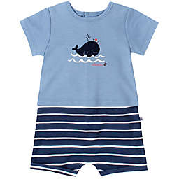 Absorba® Whale Romper in Blue