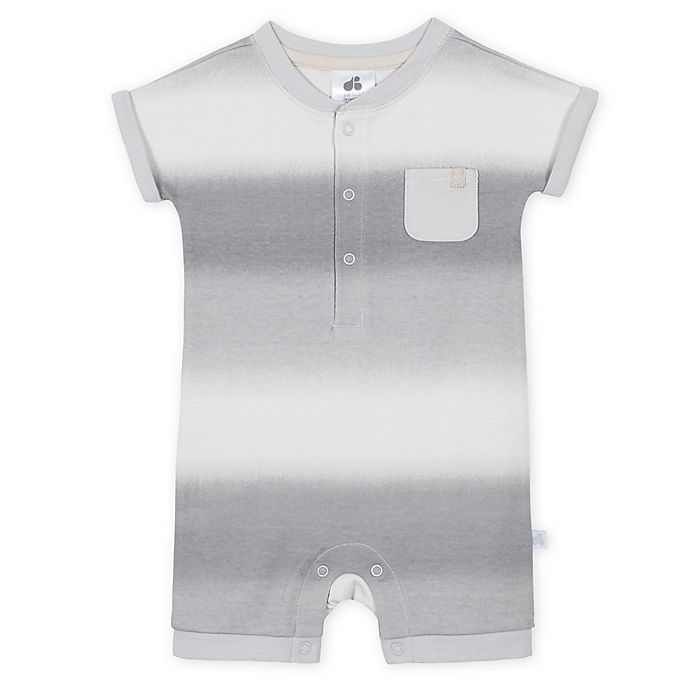 Alternate image 1 for Just Born® Ombre Romper in Grey