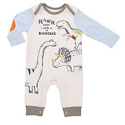 Baby Starters® Little Wild Thing Coverall in White