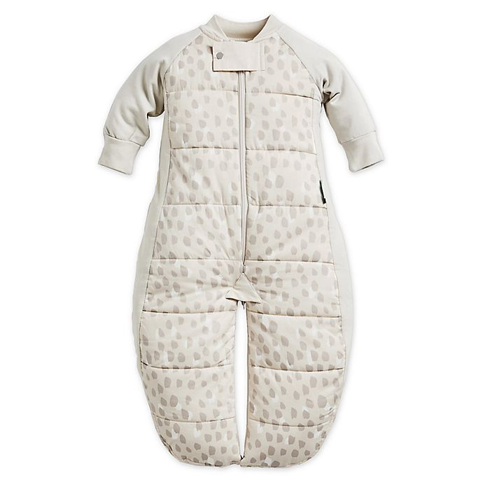 Alternate image 1 for ergoPouch® 2.5 TOG Organic Cotton Sleep Suit Bag in Beige