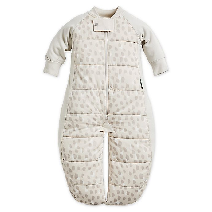 Alternate image 1 for ergoPouch® 3.5 TOG Organic Cotton Sleep Suit Bag in Beige