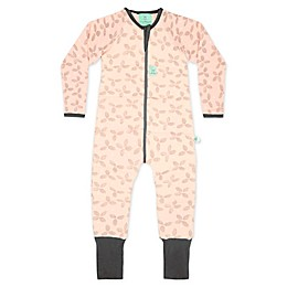 ergoPouch® 2.5 TOG Petals Organic Cotton Coverall in Pink