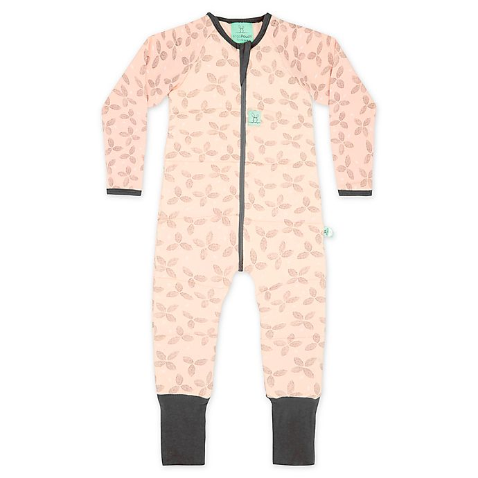 Alternate image 1 for ergoPouch® 2.5 TOG Petals Organic Cotton Coverall in Pink