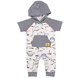 Baby Starters® Little Wild Thing Hooded Coverall