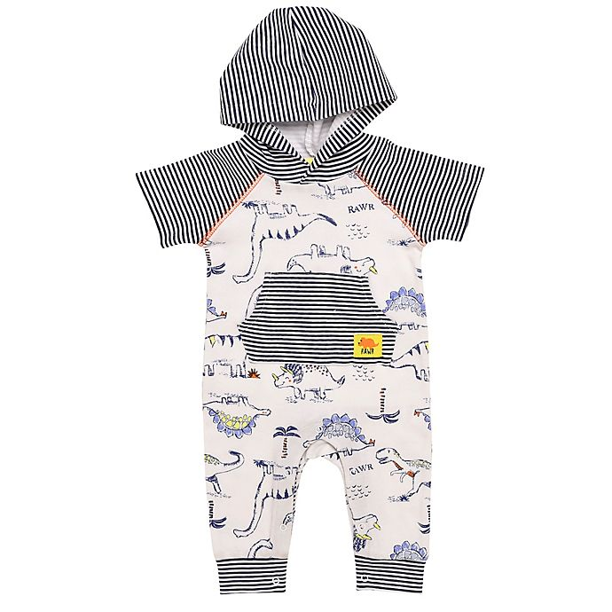 Alternate image 1 for Baby Starters® Little Wild Thing Hooded Coverall
