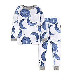 Burt's Bees Baby® 2-Piece Moon Organic Cotton Toddler Pajama Set