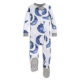 Burt's Bees Baby® Hello Moon Organic Cotton Footed Pajama in Indigo