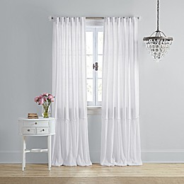 Wamsutta® Vintage Bourneville Rod Pocket/Back Tab Window Curtain Panel