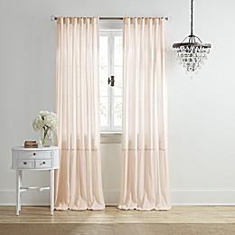 Wamsutta® Vintage Bourneville Rod Pocket/Back Tab Window Curtain Panel
