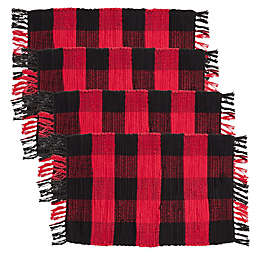 Saro Lifestyle Woolrich Placemats (Set of 4)