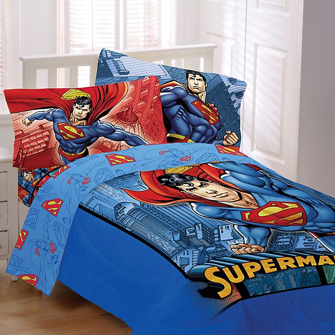 Superman Bedding And Bath Collection Bed Bath Amp Beyond