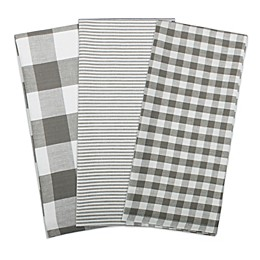 DII Gingham Kitchen Linens Collection