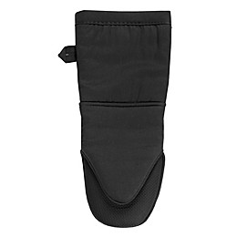 KitchenSmart® Colors 2 Neoprene Oven Mitt in Black
