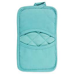 KitchenSmart® Colors 2 Solid Pocket Pot Mitt in Teal