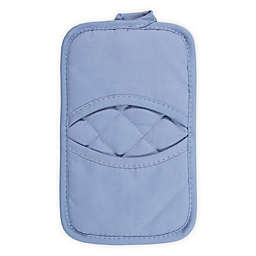 KitchenSmart® Colors Solid Pocket Pot Mitt in Capri