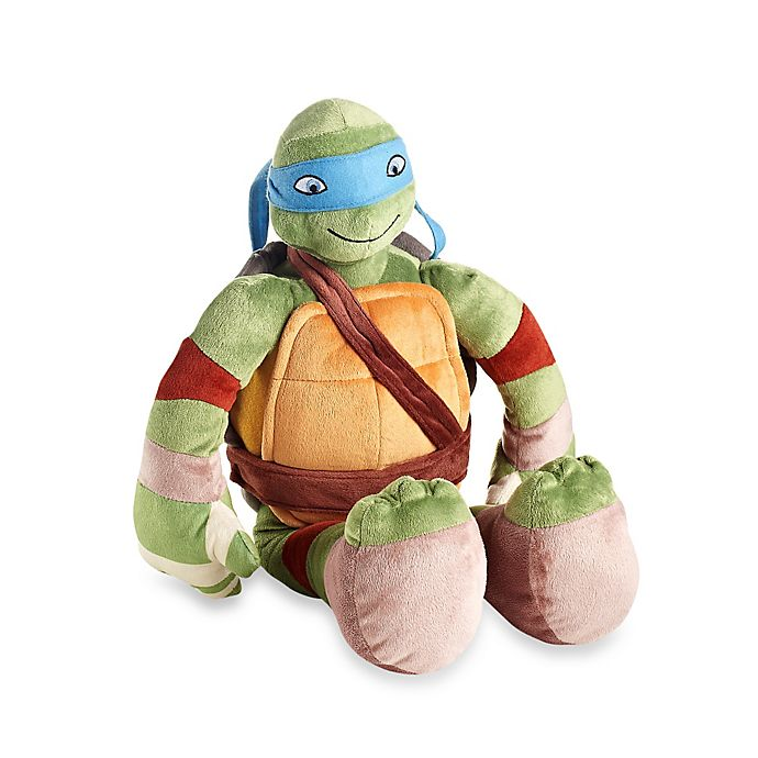 Teenage Mutant Ninja Turtles Leonardo Pillow Buddy Bed Bath Beyond
