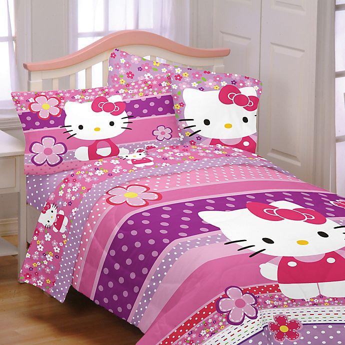 Verwonderlijk Hello Kitty Bedding and Bath Collection | Bed Bath & Beyond OY-92