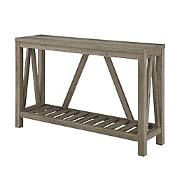 Forest Gate™ Charlotte Console Table in Grey Wash