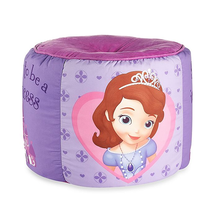 Alternate image 1 for Disney® Sofia the First Printed Pouf