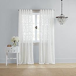 Wamsutta® Vintage Ellesmere Rod Pocket/Back Tab Window Curtain Panel