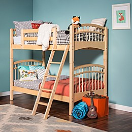 Epoch McKenzie Hard Wood Twin Over Twin Bunk Bed