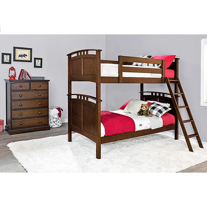 Alternate image 1 for Epoch Astoria 2-Piece Twin over Twin Bunk Bed Set