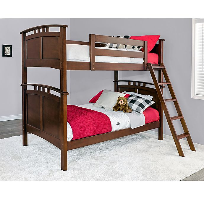 Alternate image 1 for Epoch Astoria Twin over Twin Bunk Bed in Coffee