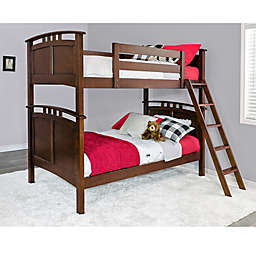Epoch Astoria Twin over Twin Bunk Bed in Coffee