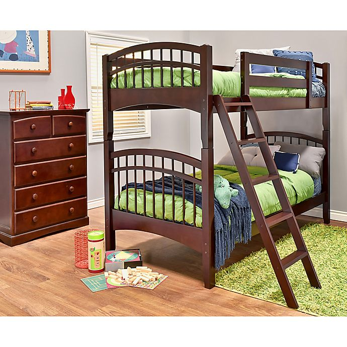 Alternate image 1 for Epoch McKenzie 2-Piece Twin Over Twin Bunk Bed Set