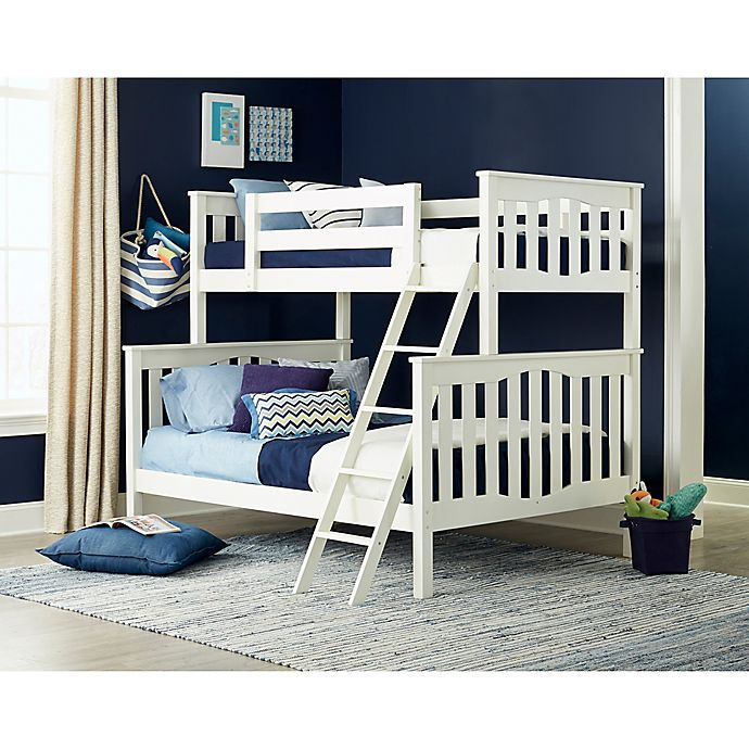 Alternate image 1 for Epoch Seneca 2-Piece Twin Over Full Bunkbed Set
