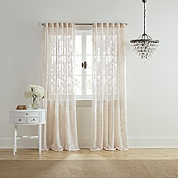 Wamsutta® Ellesmere Rod Pocket/Back Tab Window Curtain Panel