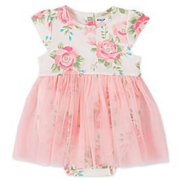 Absorba® Floral Tutu Bodysuit in Pink