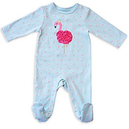 Sterling Baby Flamingo Footie in Blue