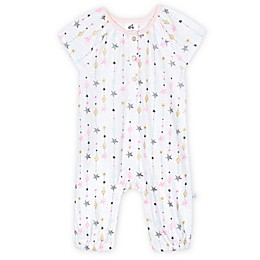 Just Born® Love and Sugar Romper in Pink