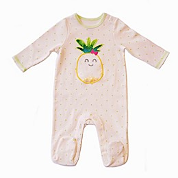 Sterling Baby Pineapple Polka Dot Footie