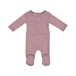 HannaKay by Manière Circle Time Footie in Pink