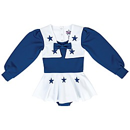 NFL Dallas Cowboys Cheerleader Infant Cheer Uniform in Royal/White
