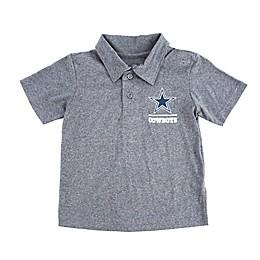 NFL Dallas Cowboys Baby Toddler Ellison Polo in Char/Blue