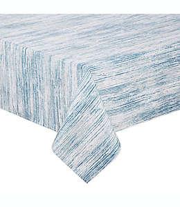Mantel para mesa Noritake® de 3.04 x 1.52 m a rayas en azul