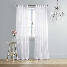 Wamsutta® Vintage Coventry 84-Inch Rod Pocket/Back Tab Window Curtain Panel in White