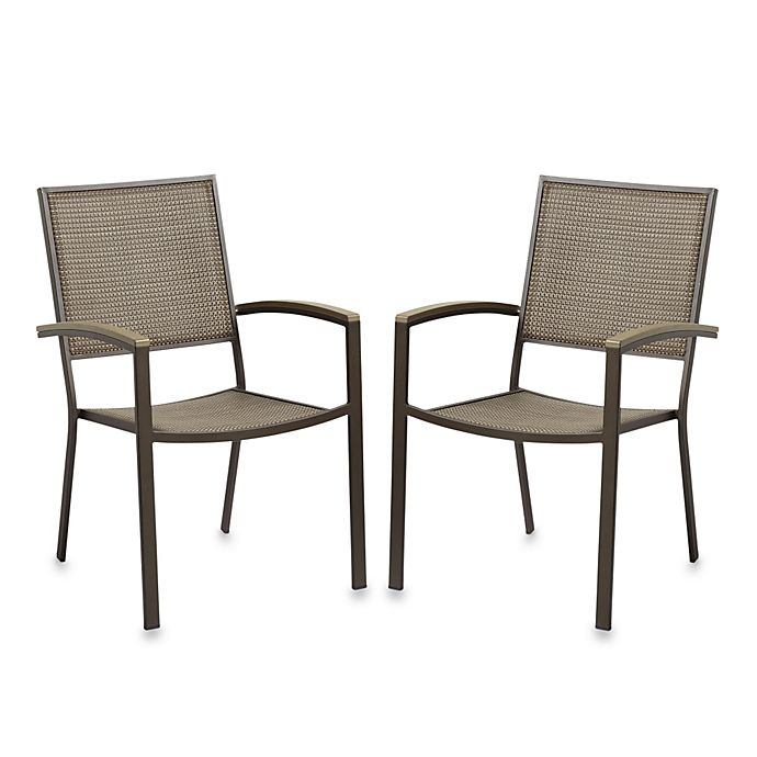 Alternate image 1 for Resin Wood Dining Chairs (Set of 2)